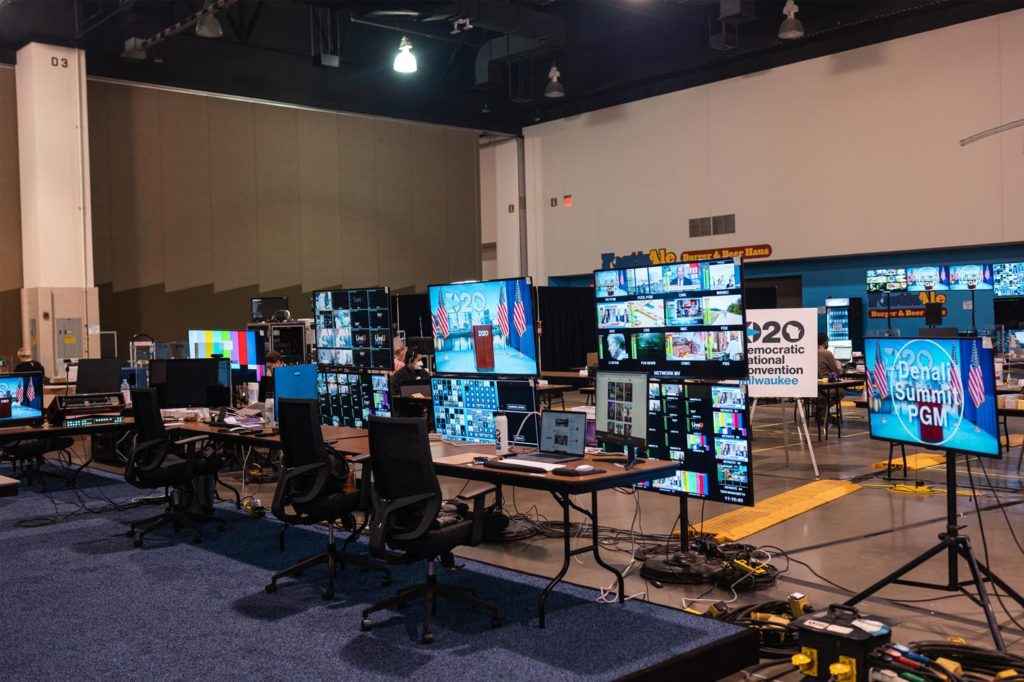 Behind the Scenes of the 2020 Democratic National Convention
