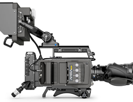 Product shot of ARRI AMIRA Live camera