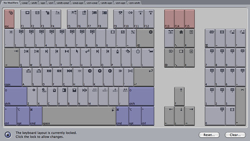 My Avid-like Final Cut Pro keyboard layout