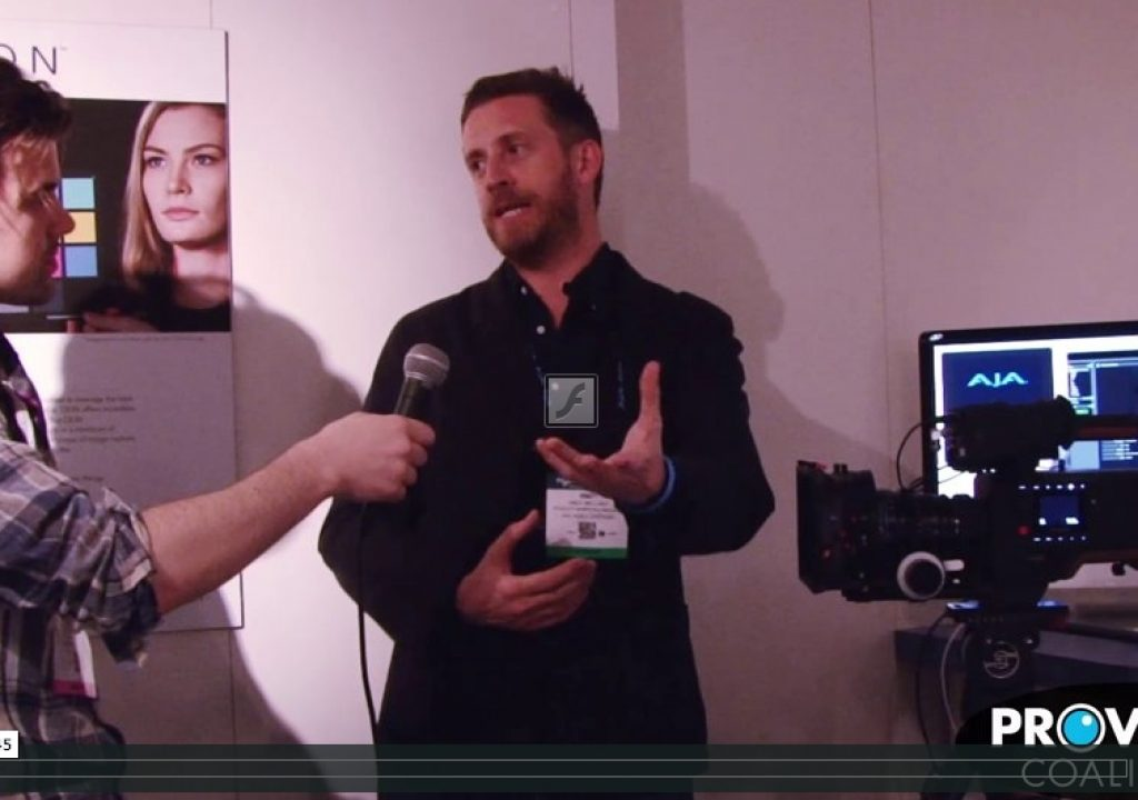 PVC at NAB 2015: Talking CION Updates and Upgrades with AJA 1