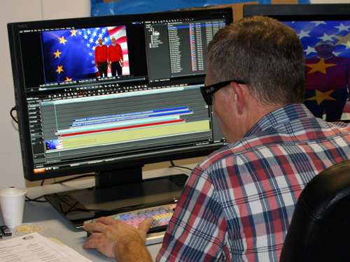 Grass Valley Editing Gets into the Swing for the Ryder Cup 1