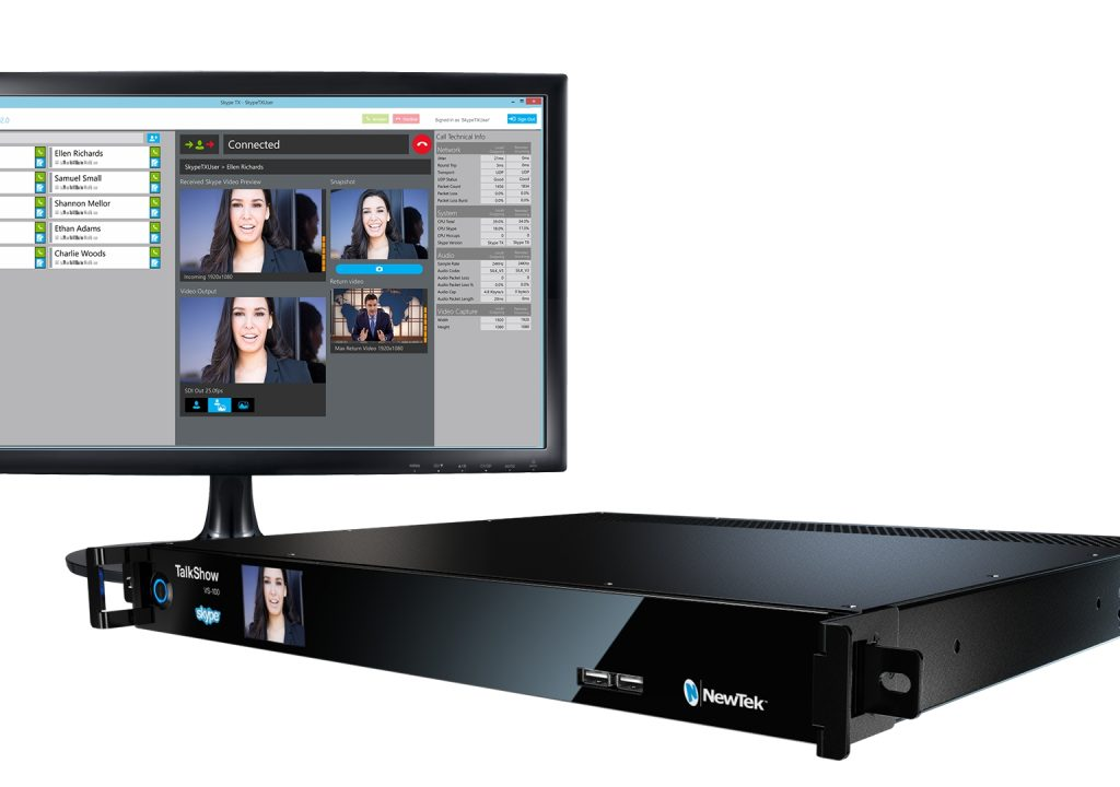 NewTek Now Shipping TalkShow 3