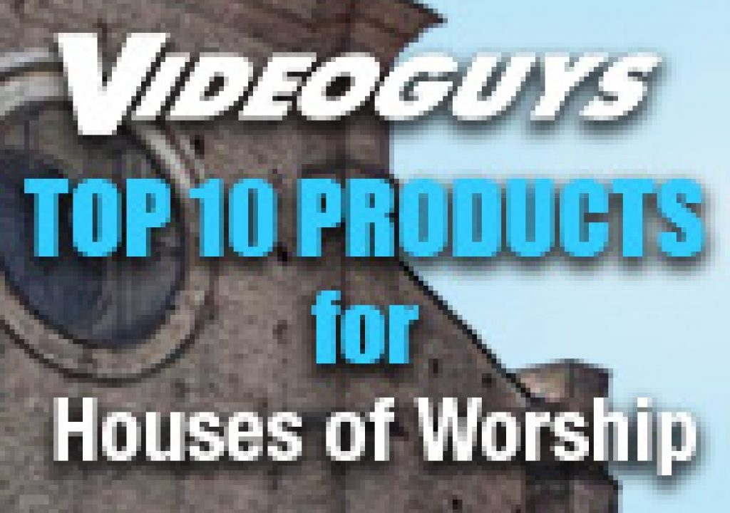 Top 10 Products for Houses of Worship 1