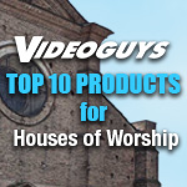 Top 10 Products for Houses of Worship 7