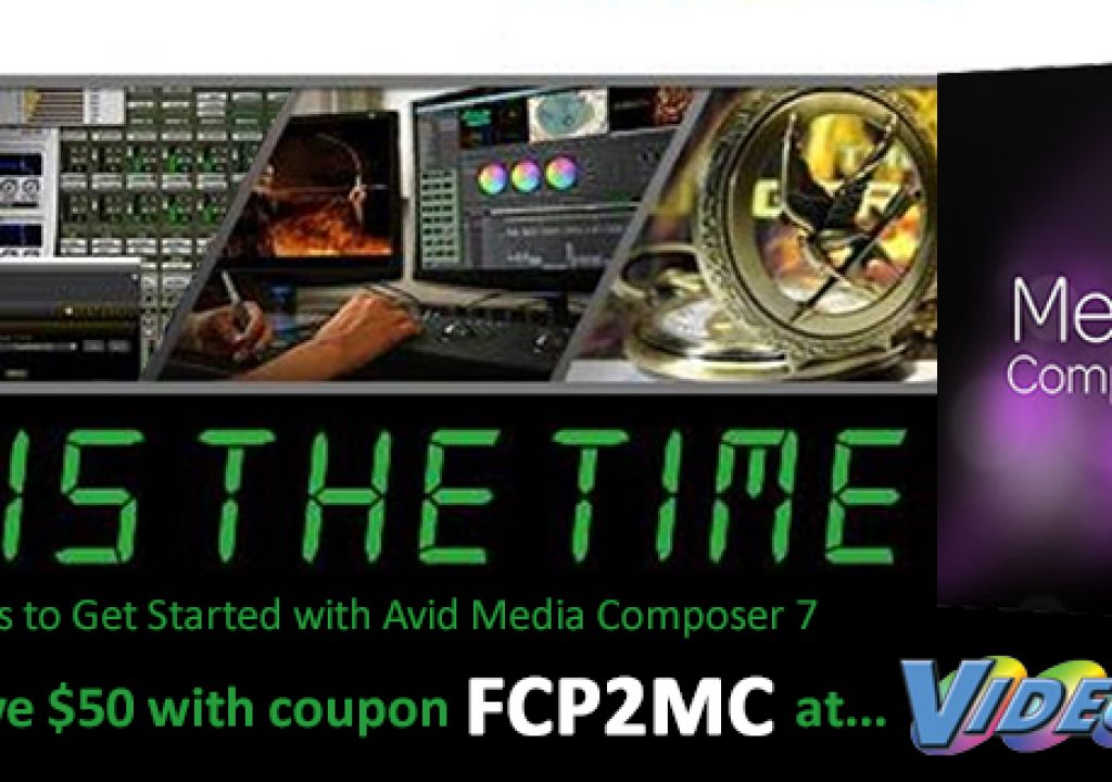 Videoguys' Recommends that Now is the time for Final Cut Editors to Get Started with Avid Media Comp 3