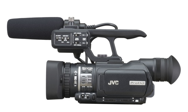 New JVC Camcorder first with Native Quicktime Support 1