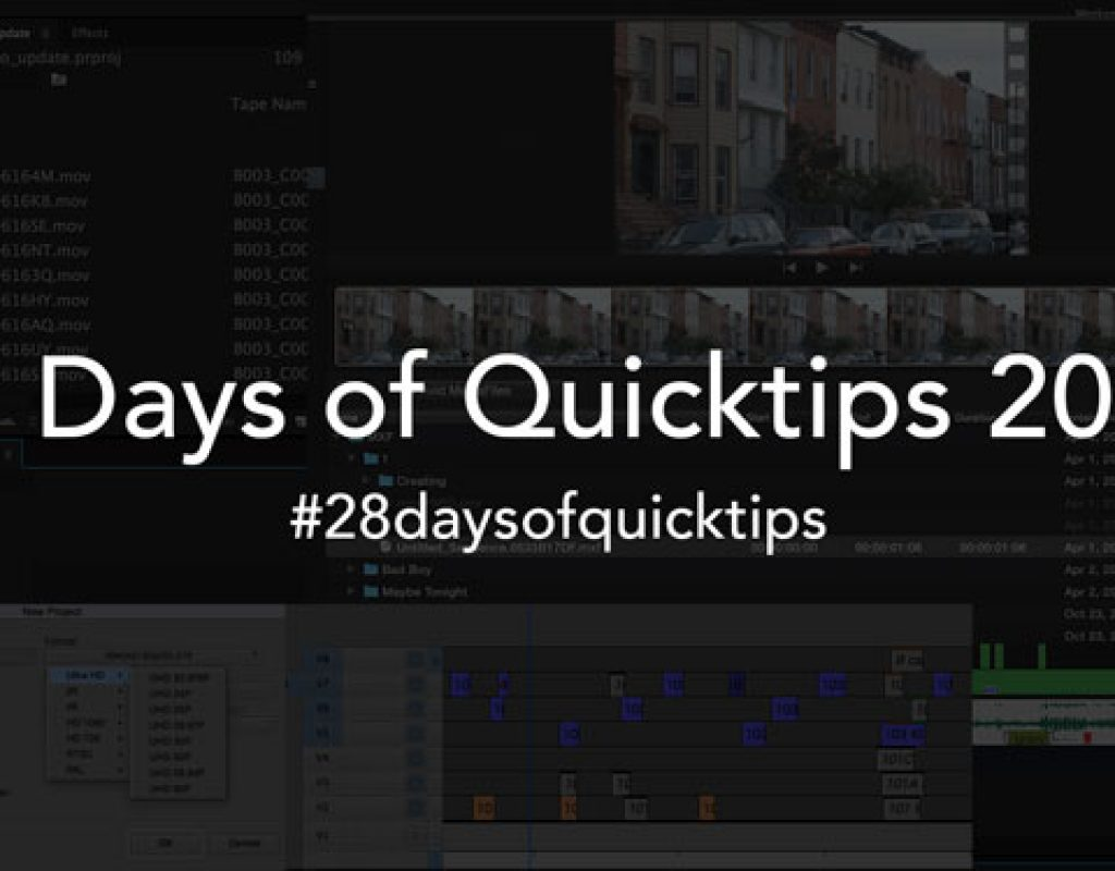 All the 2015 #28daysofquicktips in One Handy Link 1