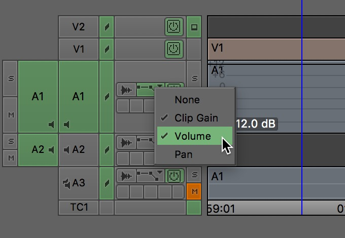 Avid Media Composer volume
