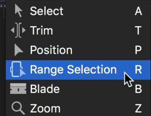 Final Cut Pro X tools