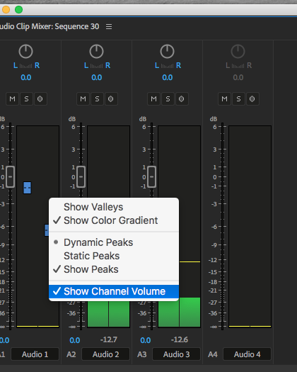 Day 28 #28daysofQuickTips 2018 – Show Channel Volume in the Adobe