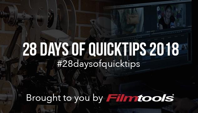 28 Days Filmtools banner