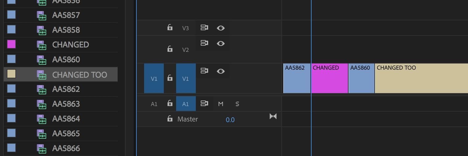 Adobe Premiere Pro changed names