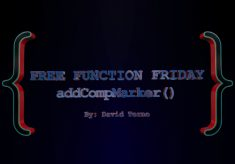 Free Function Friday addCompMarker