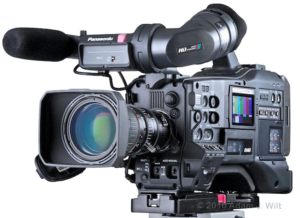 "Review: Panasonic AG-HPX370 1/3"" 3-MOS P2 HD Camcorder 1"
