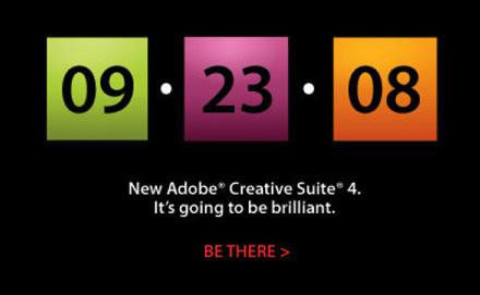 Adobe CS4 Just Around the Corner 1
