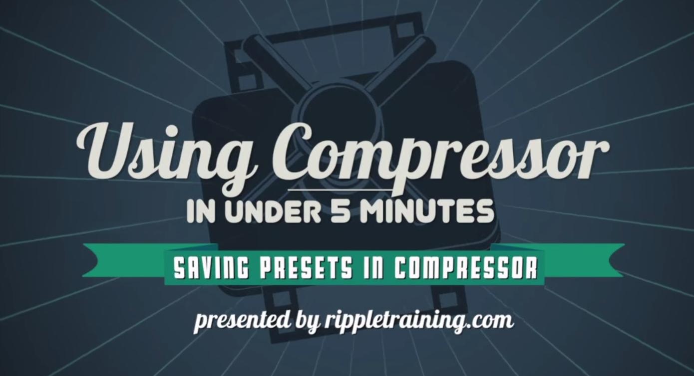 Compressor Power User Tricks 16