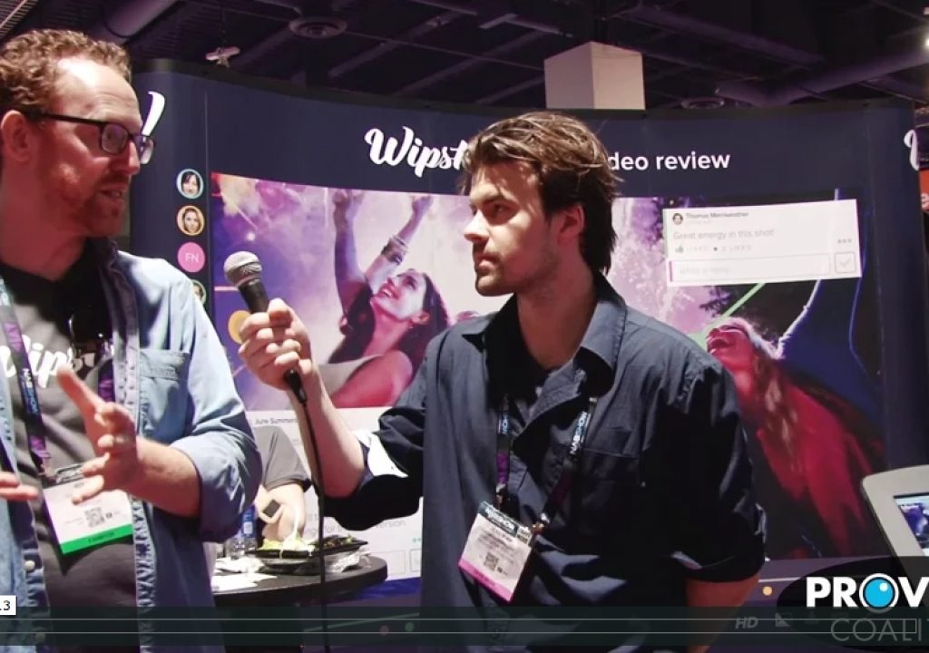 PVC at NAB 2015: Wipster Creates a Joyful Experience 1