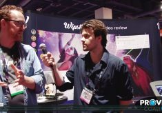 PVC at NAB 2015: Wipster Creates a Joyful Experience