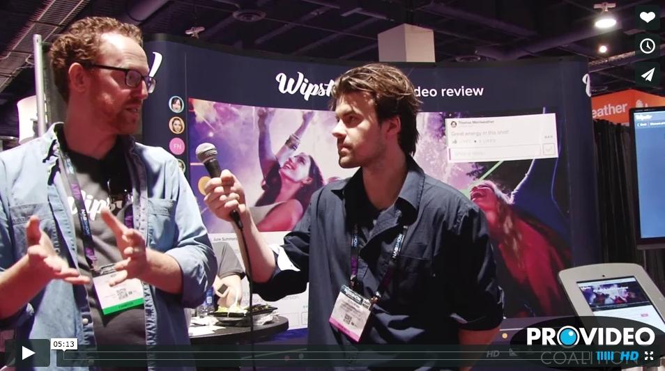 PVC at NAB 2015: Wipster Creates a Joyful Experience 8