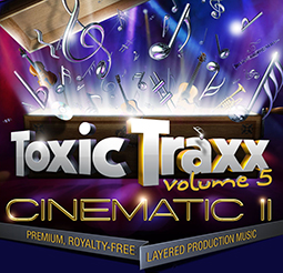All-New Toxic Traxx™ Layered Music Release Full of Emotional Energy 3