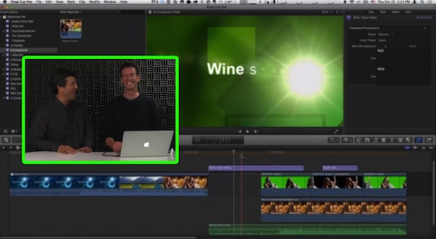 Improved Compound Clips in Final Cut Pro X 1