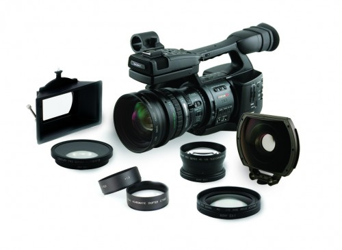 New Century HD Lens Accessories for Sony PMW-EX1 1