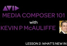 Let's Edit with Media Composer – What's New in Version 8.2