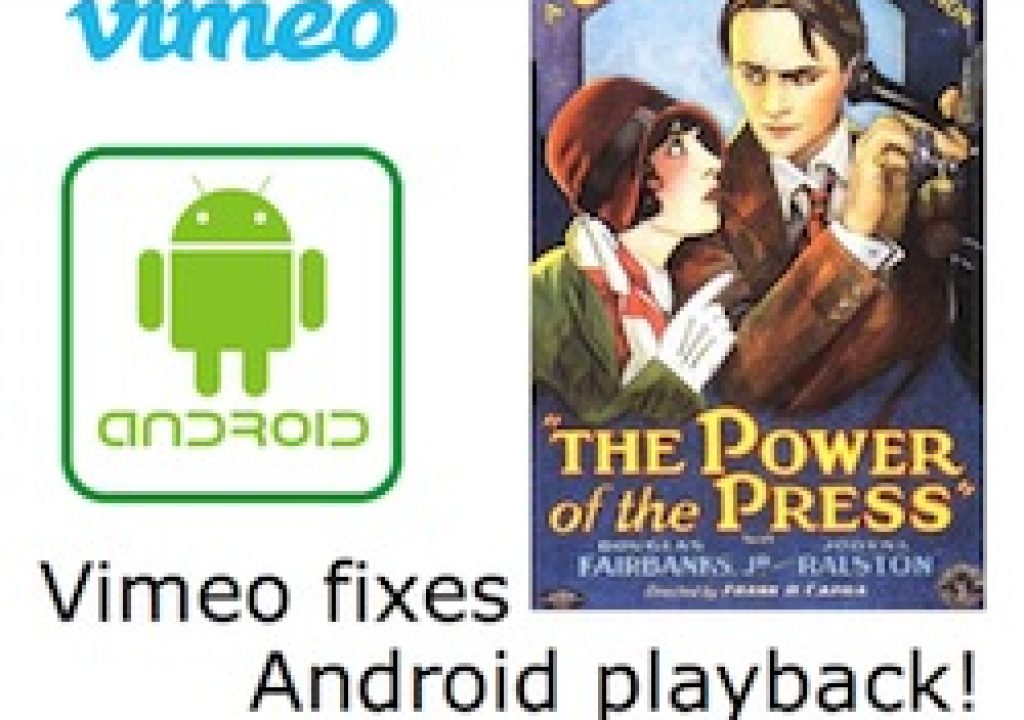 Vimeo fixes Android playback compatibility beyond Vimeo.com 5