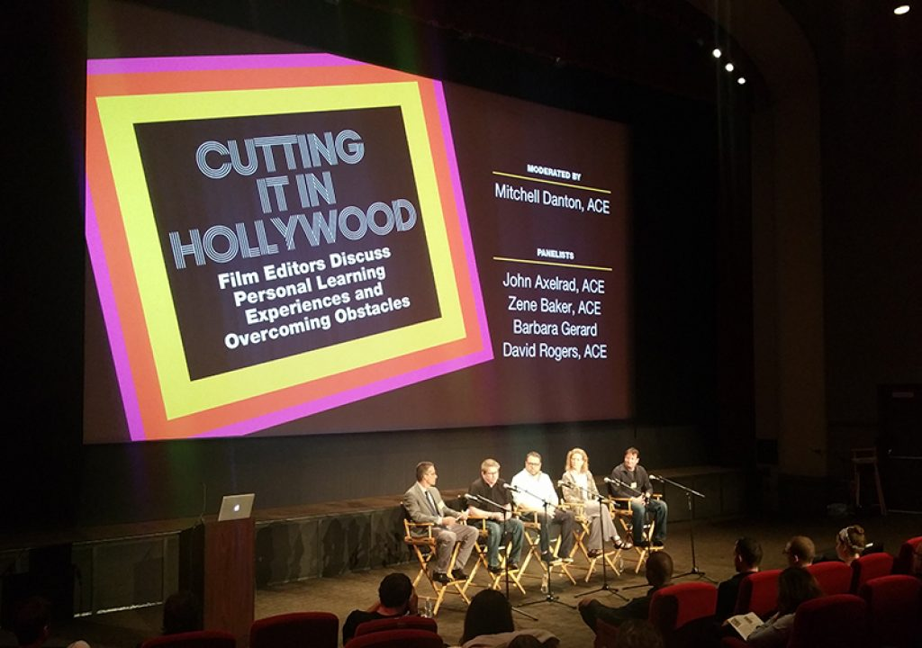 Editfest 2016: Cutting it in Hollywood with the American Cinema Editors 1