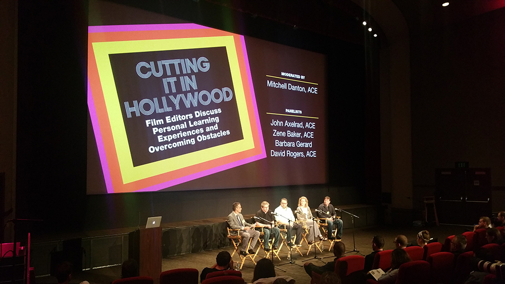 Editfest 2016: Cutting it in Hollywood with the American Cinema Editors 6