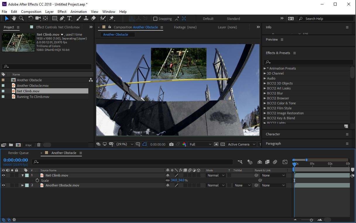 After Effects Layered Workflow