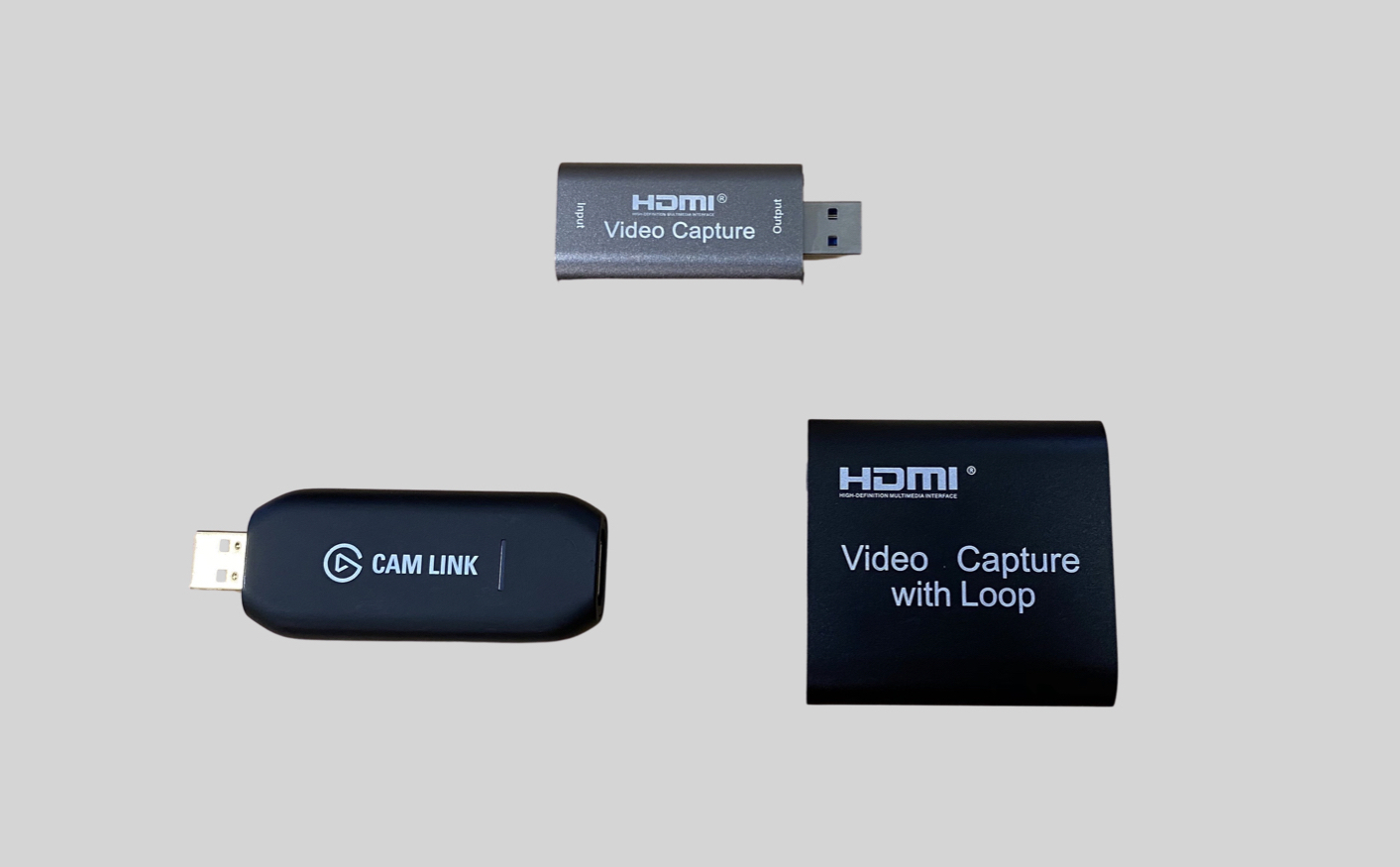 Inexpensive HDMI capture sticks solve camera shyness types 1, 2 & 3 in many cases 1