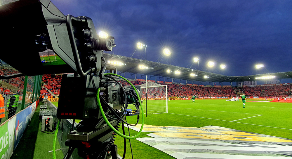 Poland's National Football Association Livestreams with Blackmagic Design 2