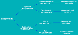 A taxonomy of uncertainty