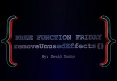 Free Function Friday removeUnusedEffects