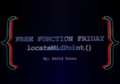 Free Function Friday locateMidPoint