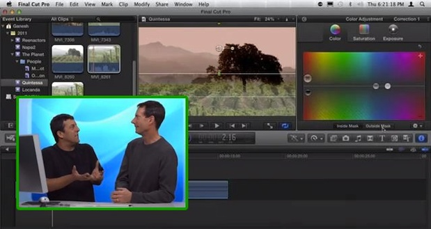 Color Correction in Final Cut Pro X 1