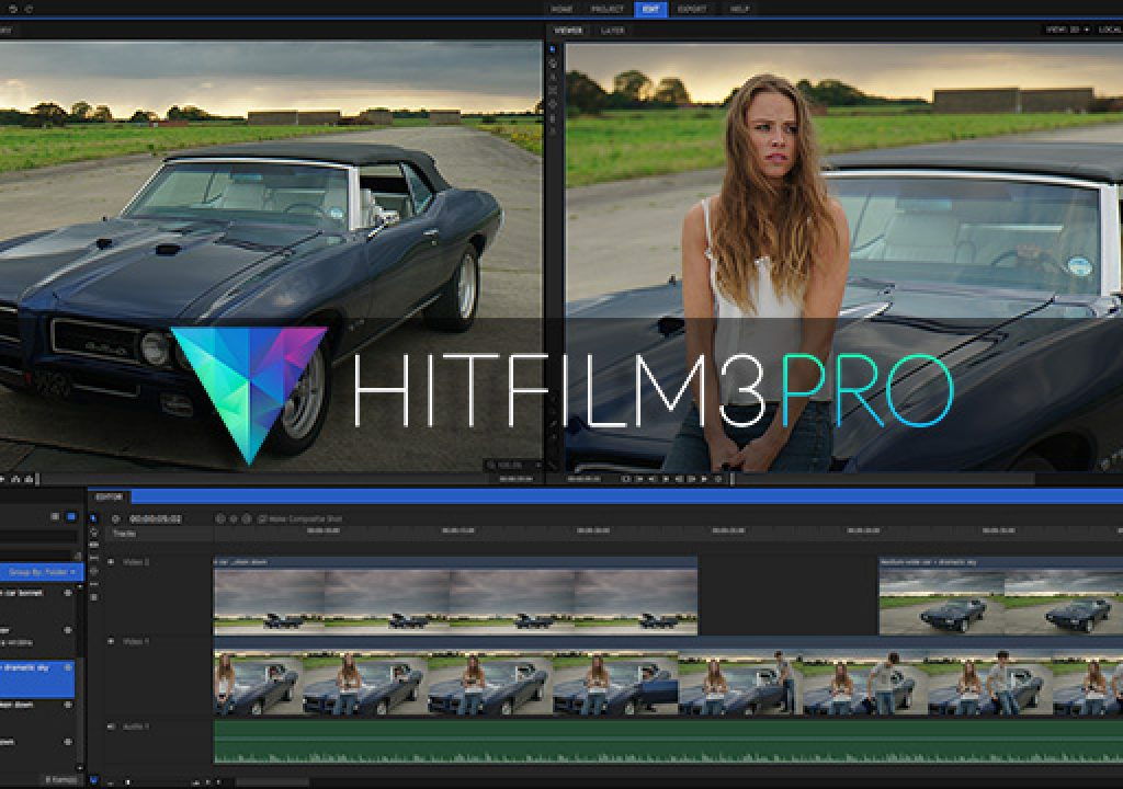HitFilm 3 Pro for free if you own HitFilm Plug-ins 5