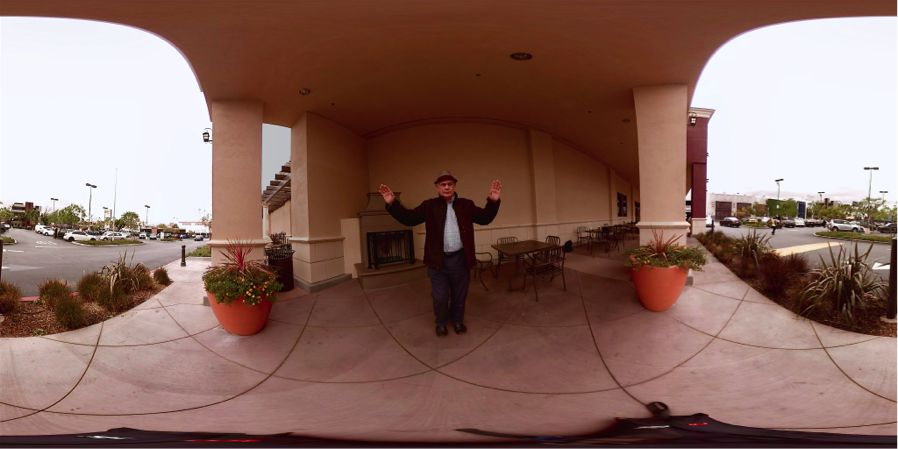 Don't shoot ... I'm only the 360º reporter reporting from NAB!