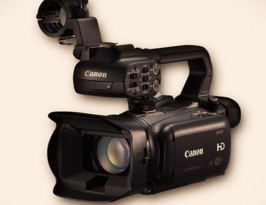NAB 2013: Canon XA20 & XA25 Camcorder 1