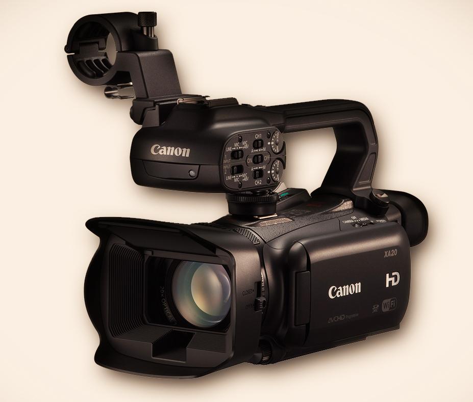 NAB 2013: Canon XA20 & XA25 Camcorder 3