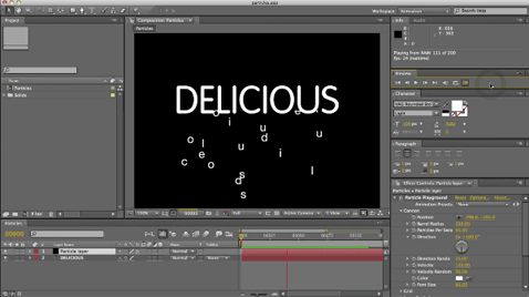 Short course on text animation in After Effects 1