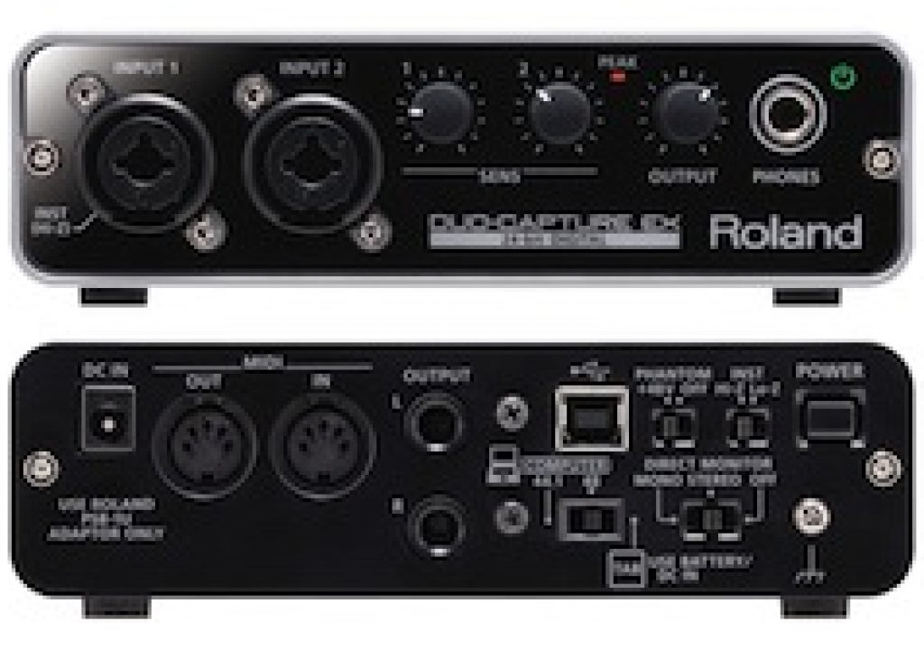 Roland DUO-CAPTURE EX US$199 field audio mixer for iPad 3