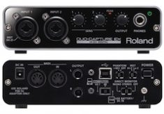 Roland DUO-CAPTURE EX US$199 field audio mixer for iPad
