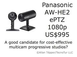 Panasonic AW-HE2 1080p ePTZ camera: a first look 3