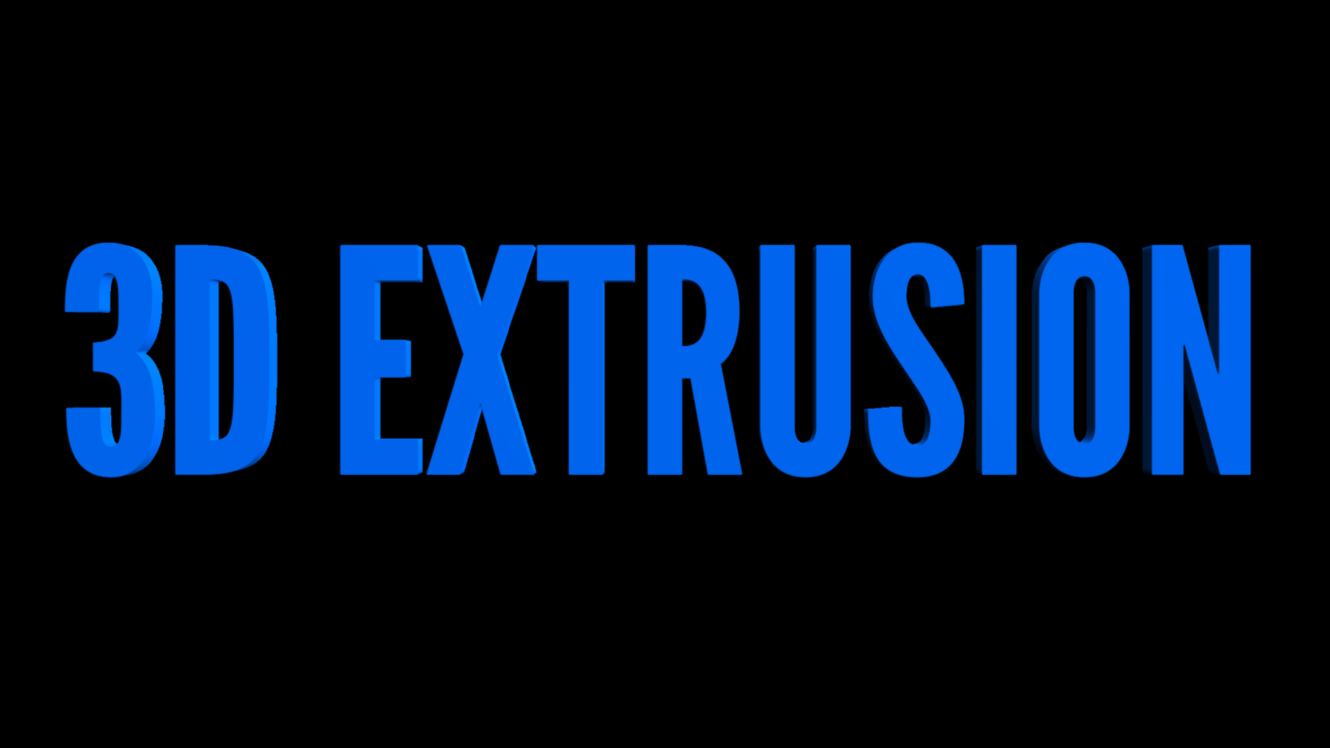 3D Text Extrusion Effect from Ignite Pro by HitFilm