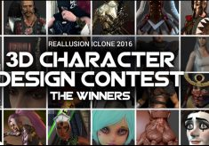 3D Character Design Contest: the winners