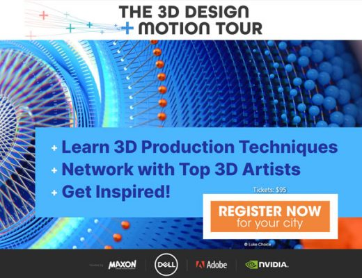 3D Design + Motion Tour: a global learning event hits the road