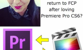 Why Manuela returned to FCP after loving Premiere Pro CS6?