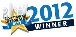 X2O Media Honored With Commercial Integrator BEST Award at InfoComm 2012 1
